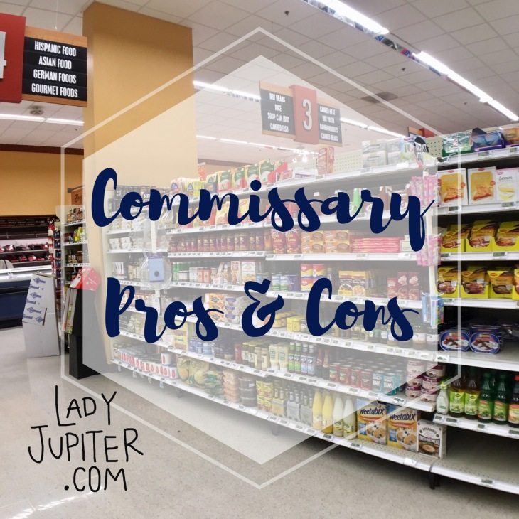 DeCA Commissary Pros + Cons #milspouse #milblogger #commissary