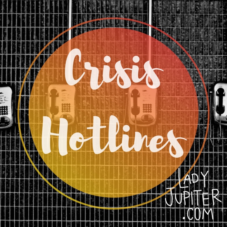 Crisis Hotline Resources #milspouse #milblogger #crisis