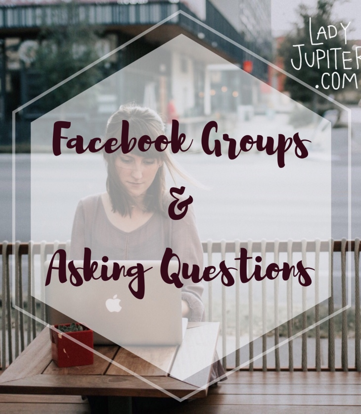 Do you ask questions in Facebook groups but receive bad answers? You need to ask better questions! Here are some things to look for, with examples. #asking #gethelp #facebookgroups