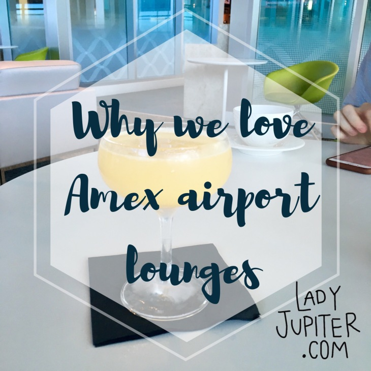 #milspouse #milblogger #travel Why we love Amex Centurion Airport Lounges