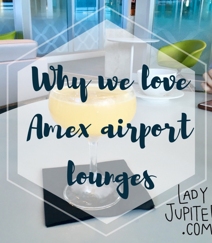 Why we love Amex Centurion Airport Lounges #milspouse #milblogger #travel