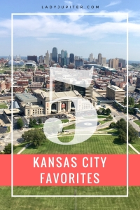 Five Faves in Kansas City! These are the places that I take my family and friends to, we don't need BBQ. #milblogger #5Faves #KansasCity