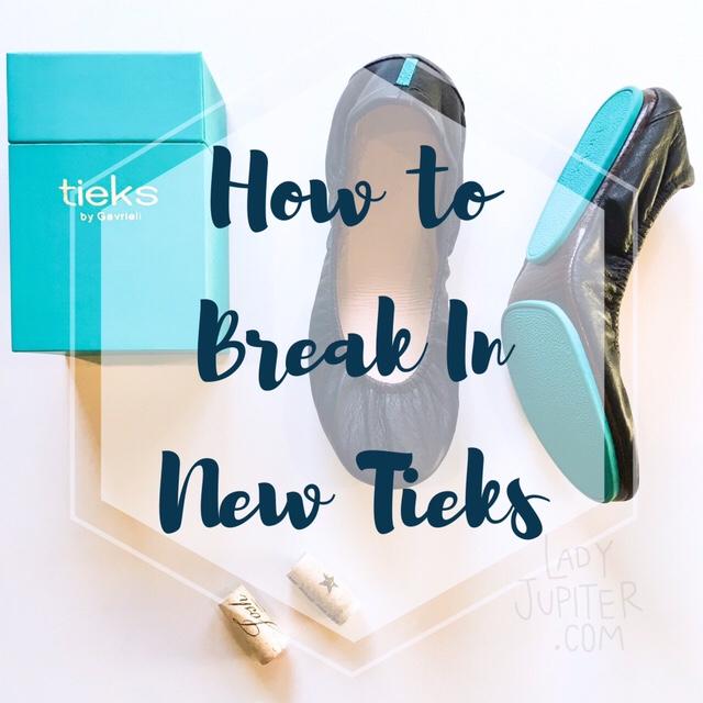 #milblogger #tieks How to Break In New Tieks