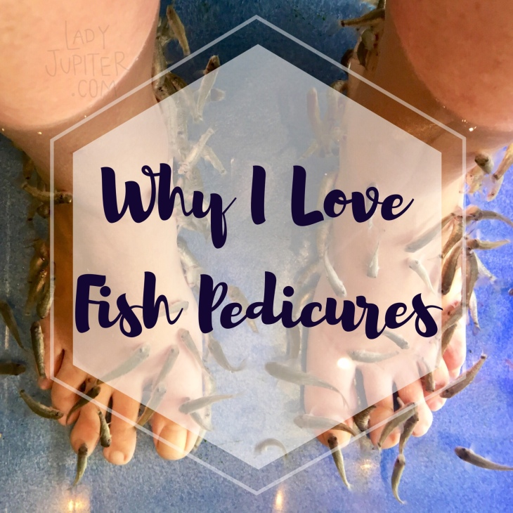 Why I love fish pedicures, also my observances of Korean versus Japanese Dr. Fish spas. #fishpedicure #drfish #militarywifelife