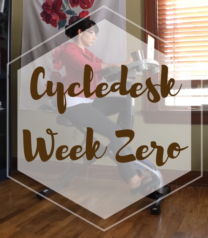 I bought a cycledesk and I am tracking my progress now that I can work and cycle at the same time #deskercise #workathome #milblogger