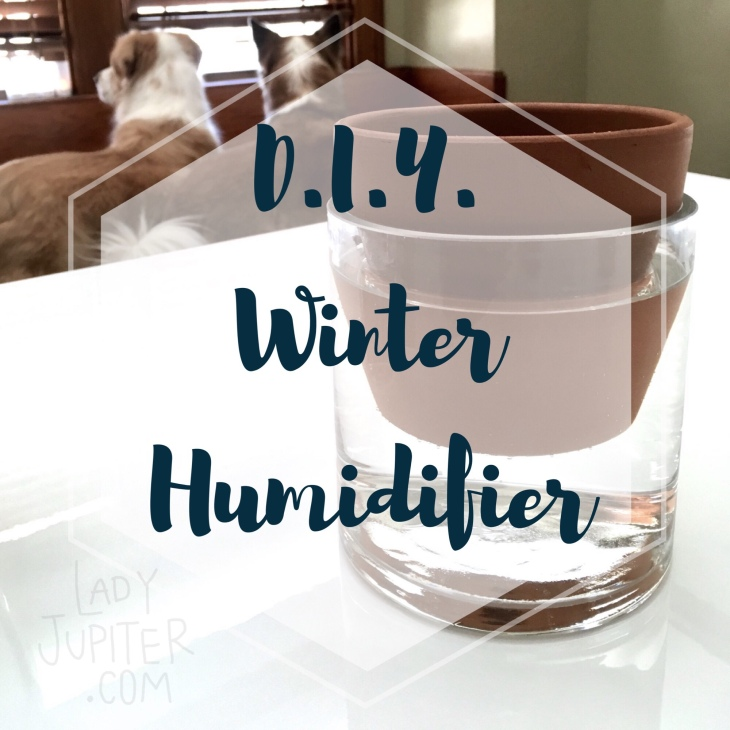Needed a humidifier, so I made a simple one with a terra cotta plant pot #humidifier #diy #itworks