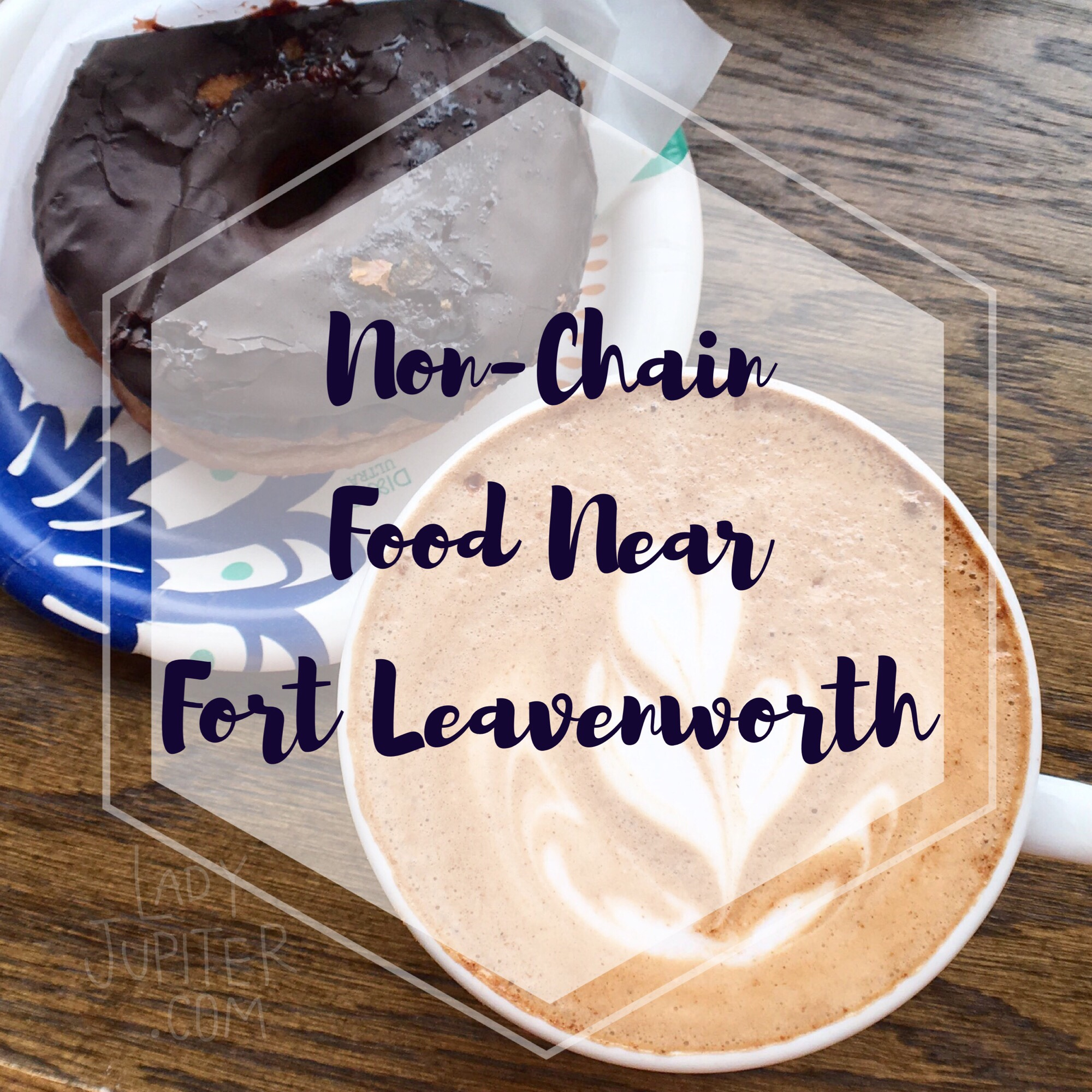 Coming to Fort Leavenworth and tired of eating in chain restaurants? I know that feeling! Here are some non-chains for you to check out #fortleavenworth #milbogger #latte