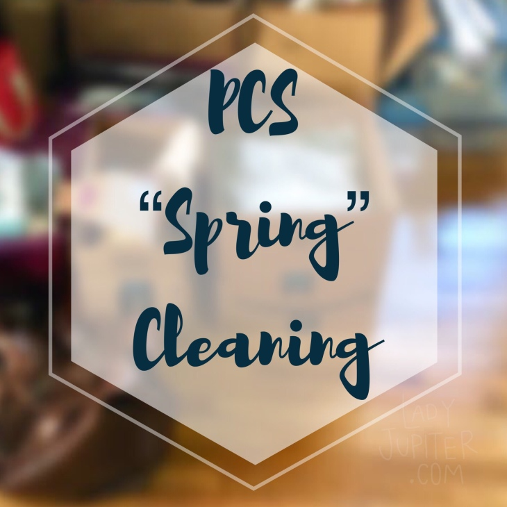 Let's talk about PCS cleaning. When is the best time to actually do it? #springcleaning #motivation #milblogger