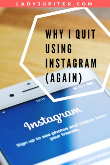 Phone with Instagram login on screen