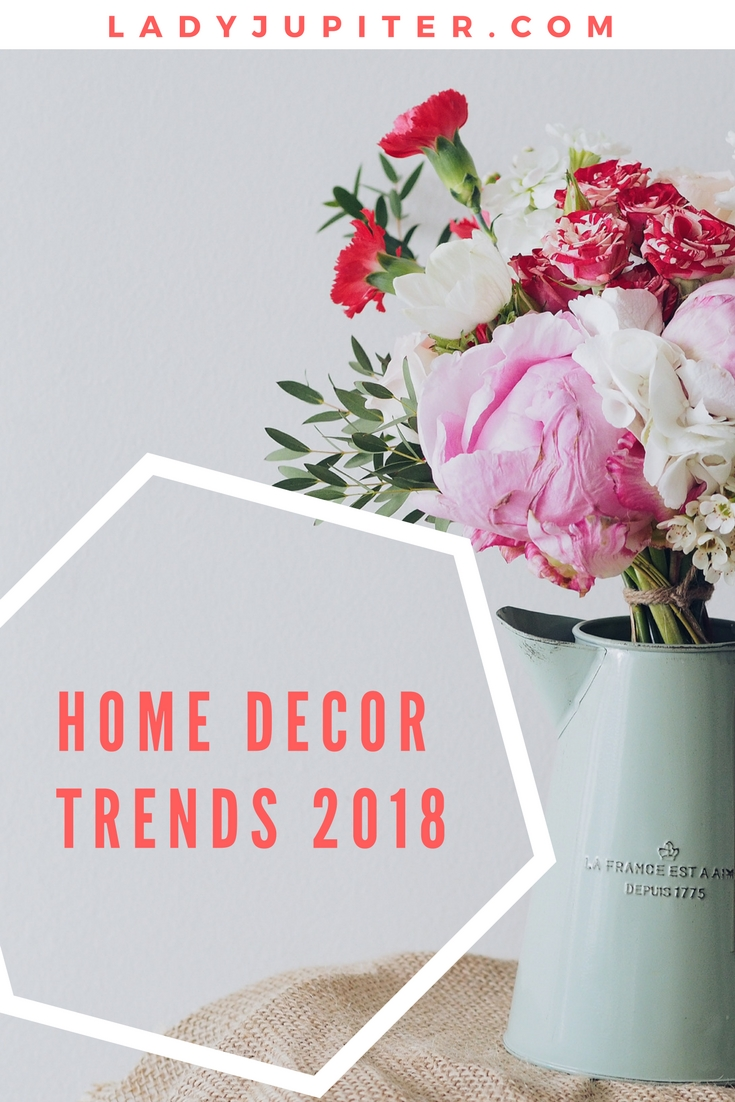 Upcoming decor trends for 2018 #decor #trends #militaryspouse