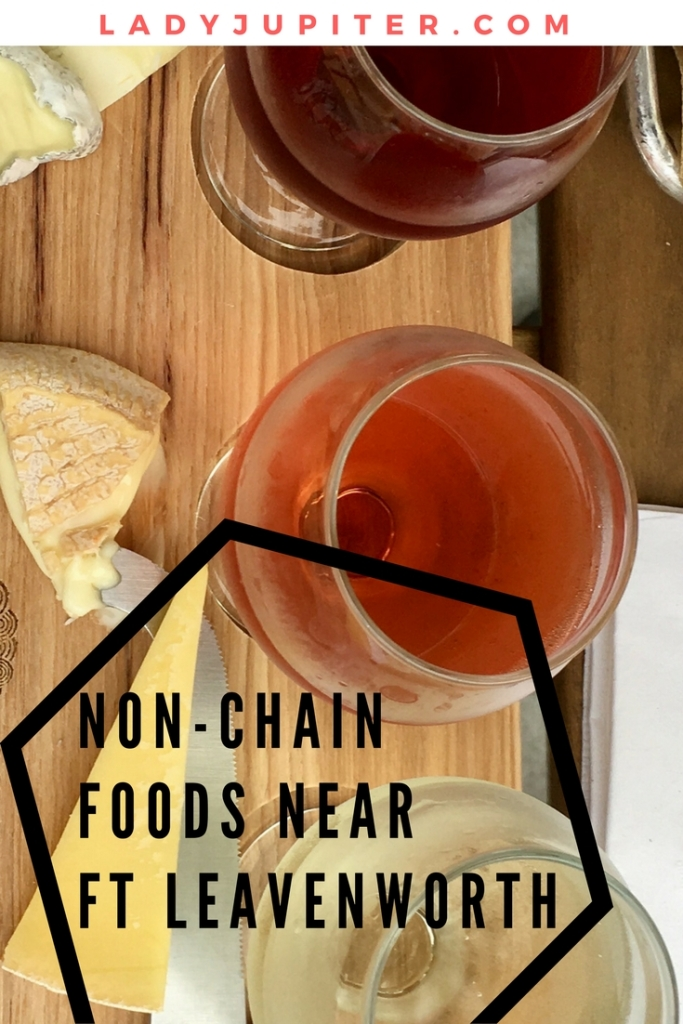 Coming to Fort Leavenworth and tired of eating in chain restaurants? I know that feeling! Here are some non-chains for you to check out #fortleavenworth #milbogger #wine