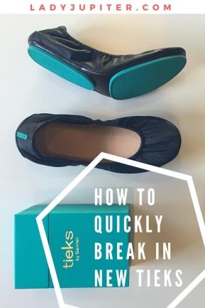 How to Break In New Tieks #newshoes #milblogger #tieks