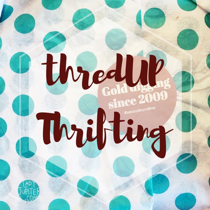 My inner introvert wanted to talk about my favorite thrift store. It's always open and I don't have to talk to anybody. #thredUP #savemoney #secondhandfirst