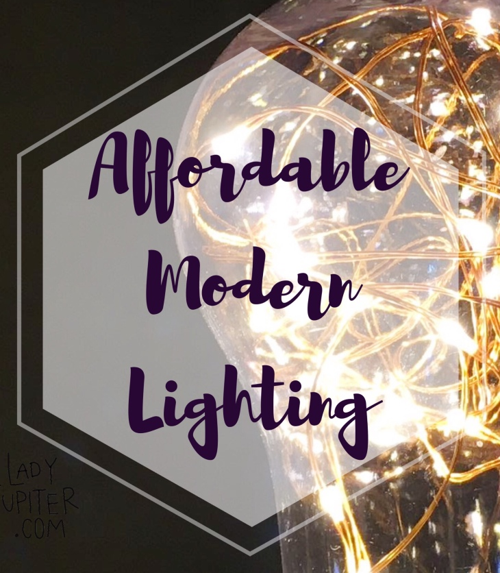 Affordable modern lighting exists! This post contains my favorite lighting options, and you could say that I love lamp 💡 #modern #LEDlamp #lighting