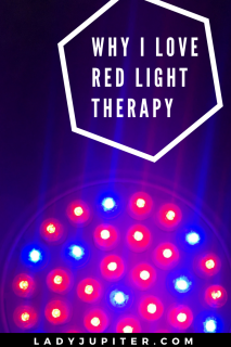 I use LED light therapy for my skin because it works. This is worth reading if you too have problem skin. #lighttherapy #eczema #KP