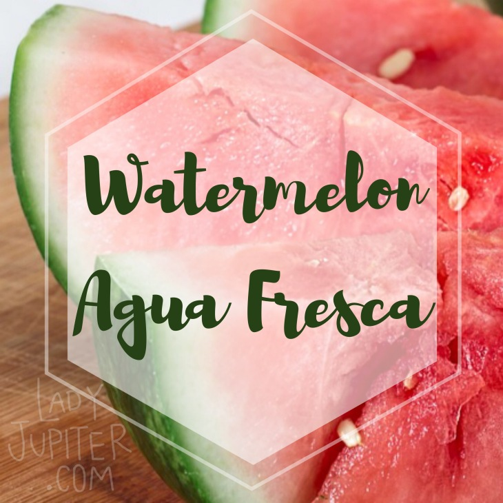 Summertime calls for seasonal drinks, and this crowd pleaser is simple and healthy with no added sugar. Kid & adult approved. #watermelon #aguafresca #blenderdrinks