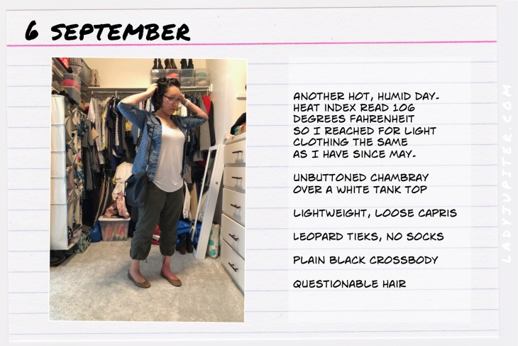Outfit of the day September six. #OOTD #NotAFashionBlogger #JustANormalLady