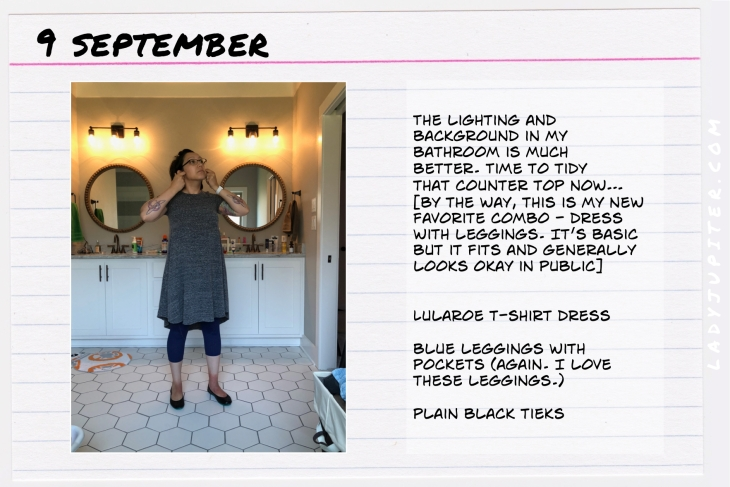 Outfit of the day September nine. #OOTD #NotAFashionBlogger #JustANormalLady