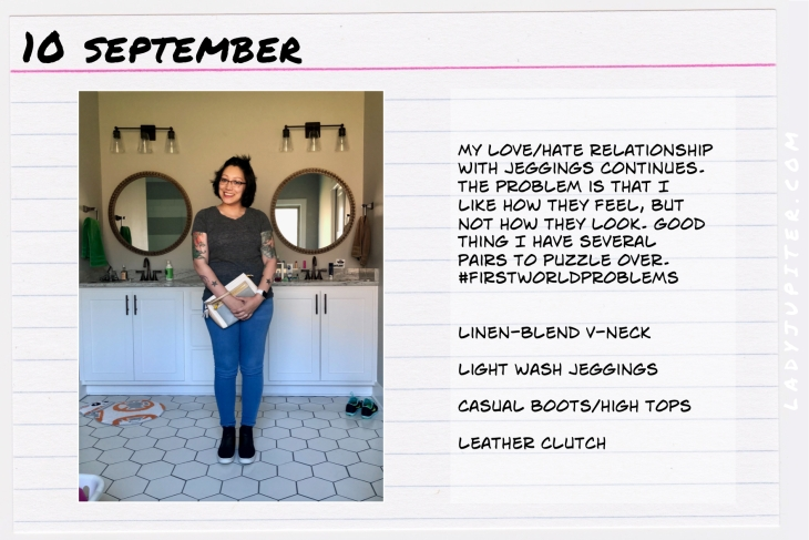 Outfit of the day September ten. #OOTD #NotAFashionBlogger #JustANormalLady