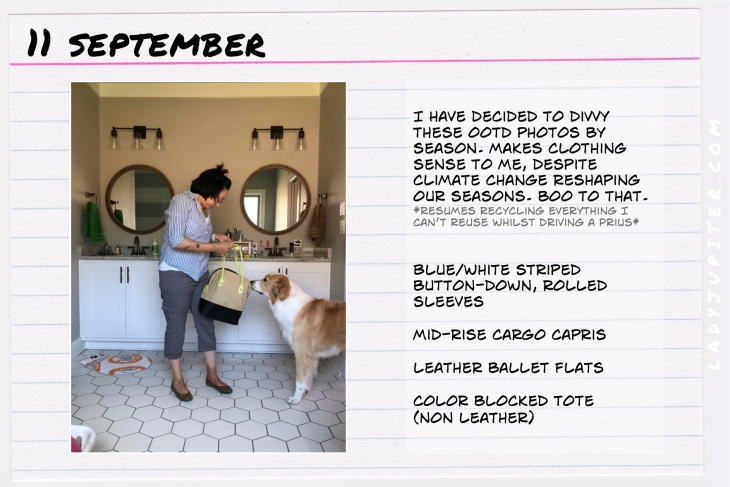 Outfit of the day September 11. #OOTD #NotAFashionBlogger #JustANormalLady
