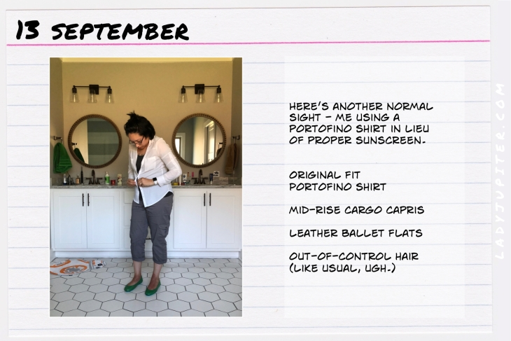 Outfit of the day September 13. #OOTD #NotAFashionBlogger #JustANormalLady
