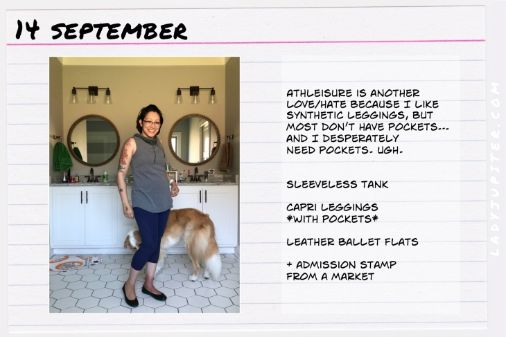 Outfit of the day September 14. #OOTD #NotAFashionBlogger #JustANormalLady
