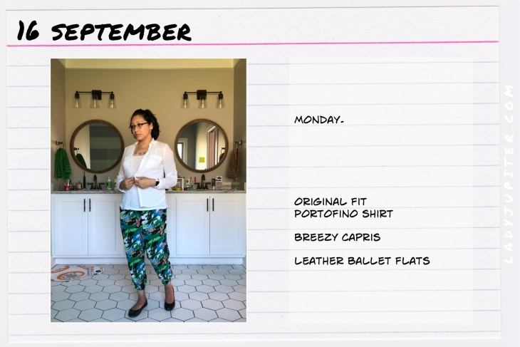 Outfit of the day September 16. #OOTD #NotAFashionBlogger #JustANormalLady