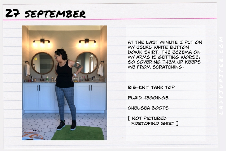 Outfit of the day September 27. #OOTD #NotAFashionBlogger #JustANormalLady