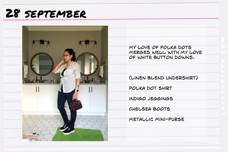Outfit of the day September 28. #OOTD #NotAFashionBlogger #JustANormalLady