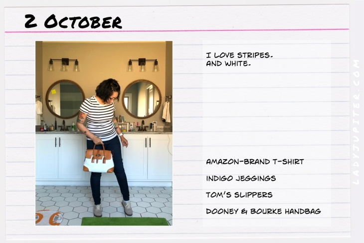 Outfit of the day October 2. #OOTD #NotAFashionBlogger #JustANormalLady