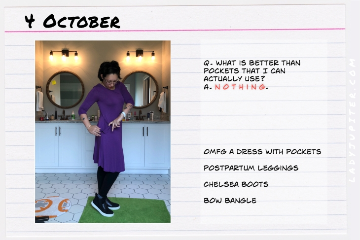 Outfit of the day October 4. #OOTD #NotAFashionBlogger #JustANormalLady