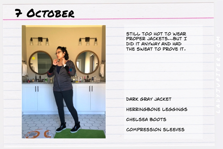 Outfit of the day October 7. #OOTD #NotAFashionBlogger #JustANormalLady