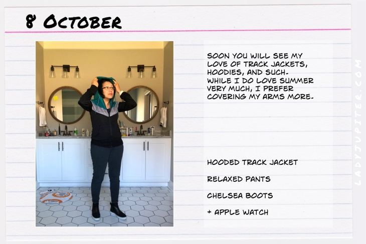 Outfit of the day October 8. #OOTD #NotAFashionBlogger #JustANormalLady