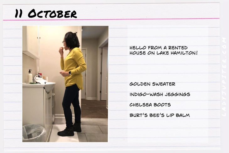 Outfit of the day October 11. #OOTD #NotAFashionBlogger #JustANormalLady