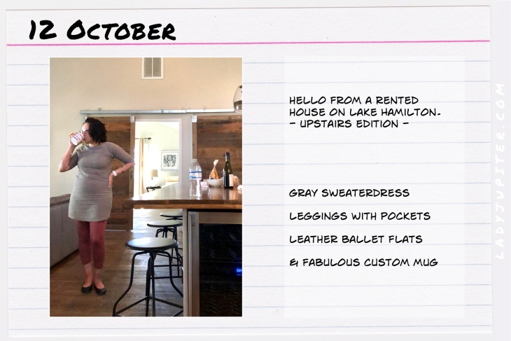 Outfit of the day October 12. #OOTD #NotAFashionBlogger #JustANormalLady