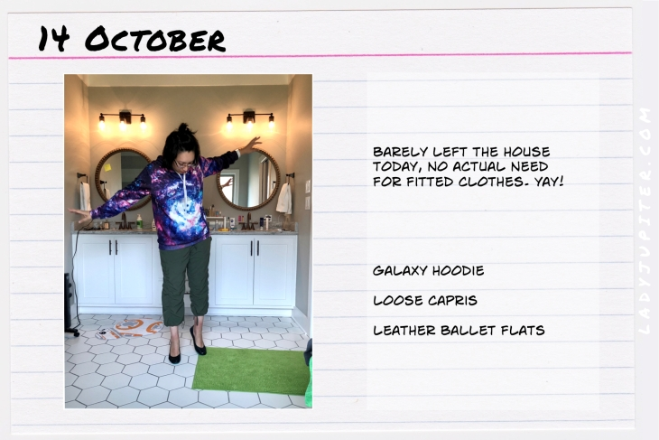 Outfit of the day October 14. #OOTD #NotAFashionBlogger #JustANormalLady