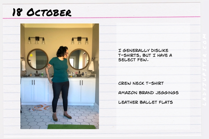 Outfit of the day October 18. #OOTD #NotAFashionBlogger #JustANormalLady