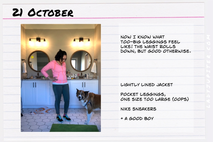 Outfit of the day October 21. #OOTD #NotAFashionBlogger #JustANormalLady