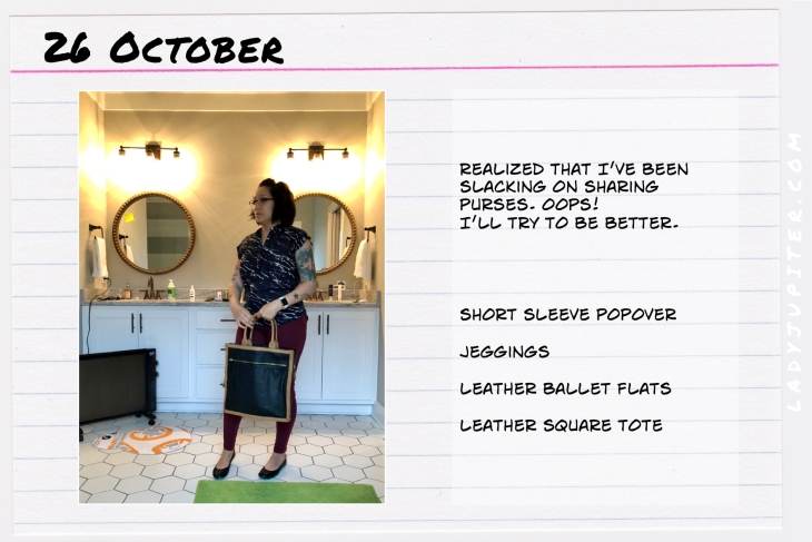 Outfit of the day October 26. #OOTD #NotAFashionBlogger #JustANormalLady