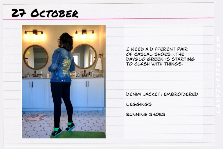 Outfit of the day October 27. #OOTD #NotAFashionBlogger #JustANormalLady