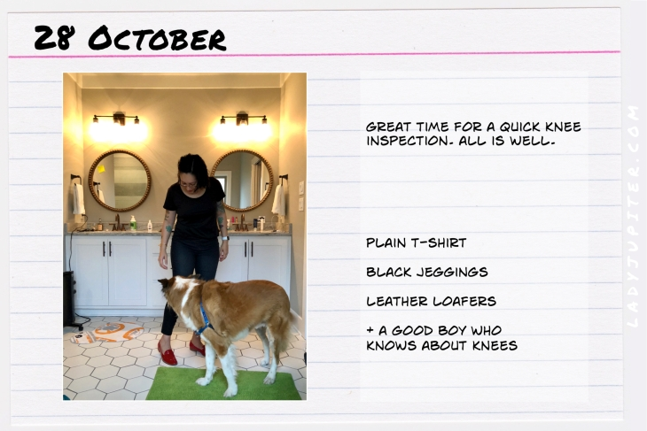 Outfit of the day October 28. #OOTD #NotAFashionBlogger #JustANormalLady