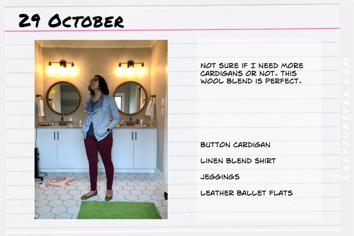 Outfit of the day October 29. #OOTD #NotAFashionBlogger #JustANormalLady