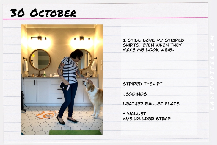 Outfit of the day October 30. #OOTD #NotAFashionBlogger #JustANormalLady