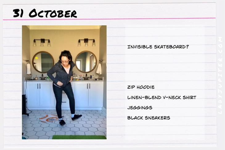 Outfit of the day October 31. #OOTD #NotAFashionBlogger #JustANormalLady