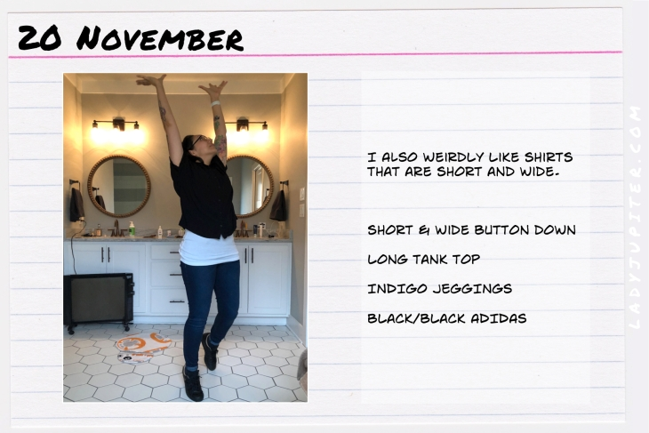 Outfit of the day November 20. #OOTD #NotAFashionBlogger #JustANormalLady