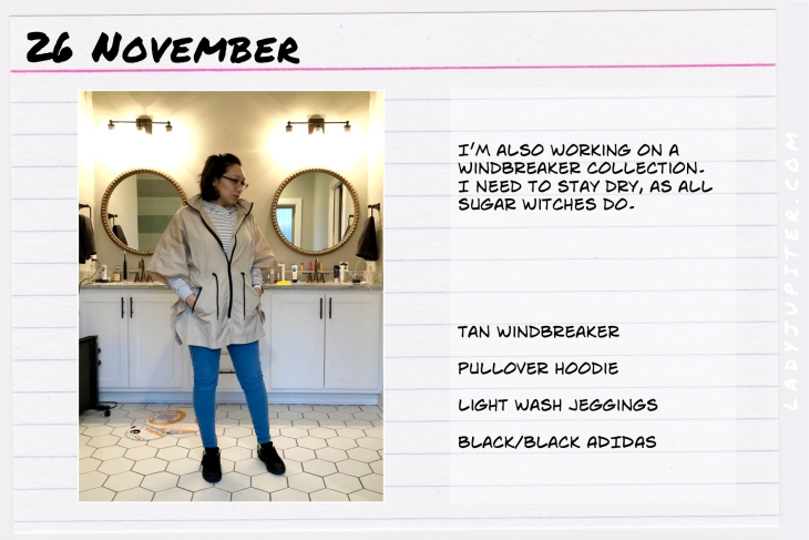 Outfit of the day November 26. #OOTD #NotAFashionBlogger #JustANormalLady #ootdshare