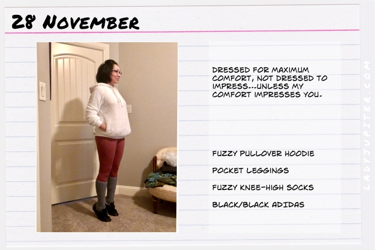 Outfit of the day November 28. #OOTD #NotAFashionBlogger #JustANormalLady #ootdshare