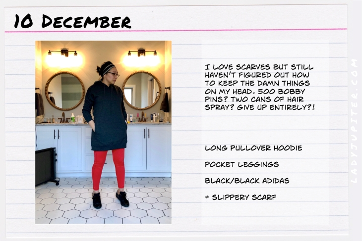Outfit of the day December 10. #OOTD #NotAFashionBlogger #WhatIWore #ootdshare