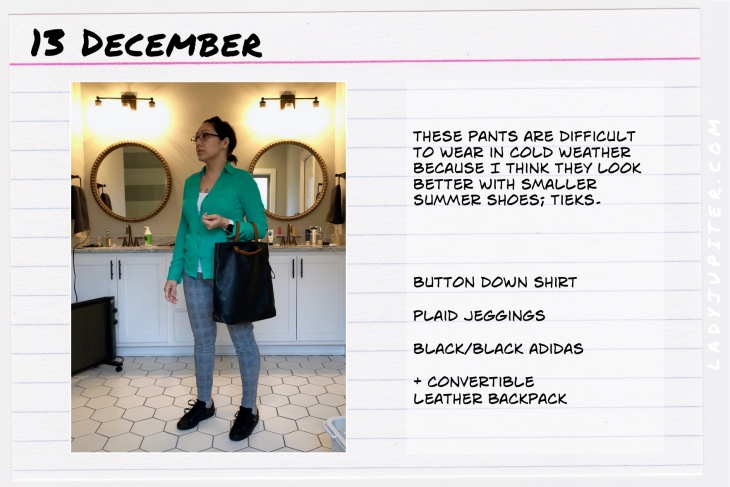 Outfit of the day December 13. #OOTD #NotAFashionBlogger #WhatIWore #ootdshare