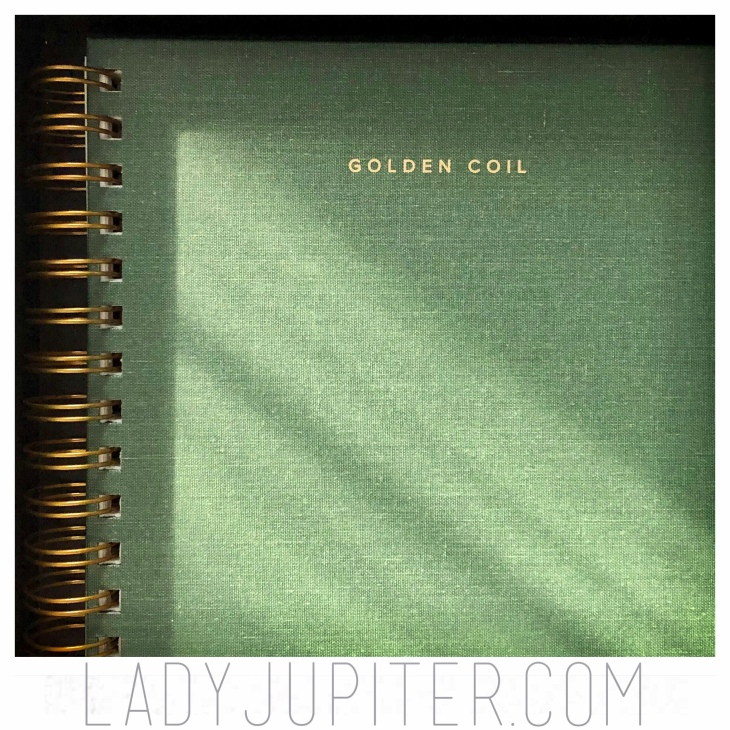 Golden Coil custom planner